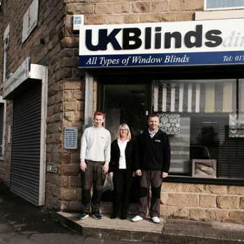 UKBlinds Direct shop window