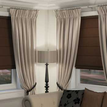 blackout blinds with curtains