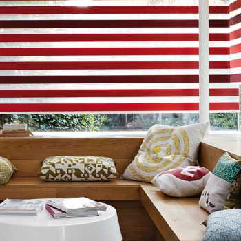 Red vision blinds