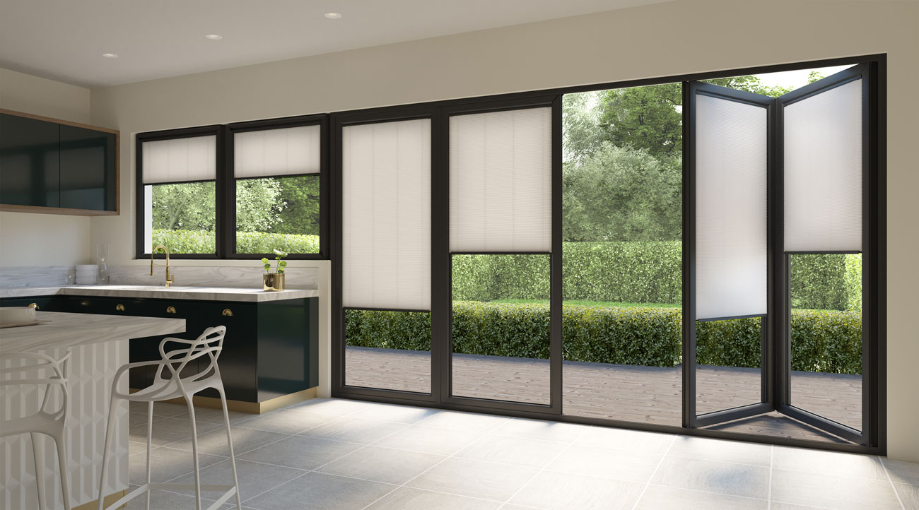 Bifolding Door Blinds Rotherham Amp Sheffield Ukblinds Direct