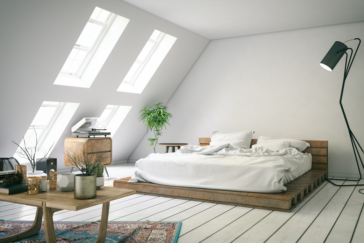 Loft Bedroom windows - UK Blinds Direct