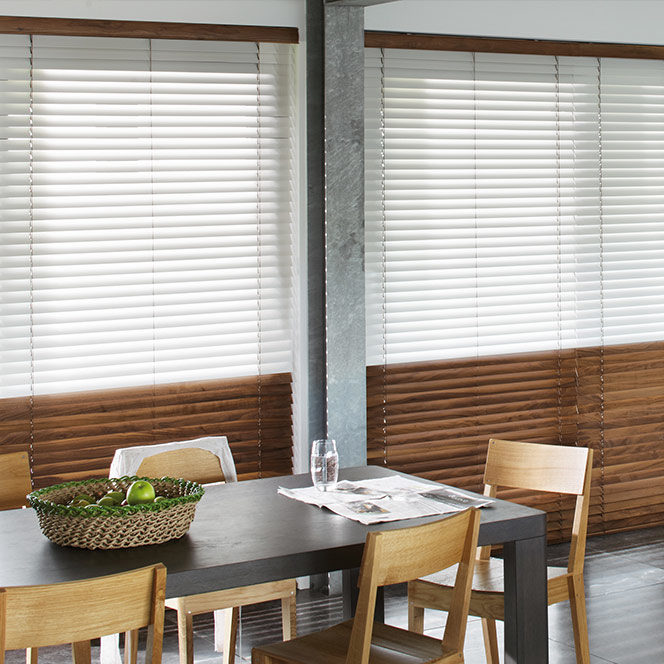 Made to measure Wooden Blinds in Sheffield